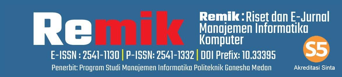 Remik ( Riset dan E-Jurnal Manajemen Informatika Komputer)