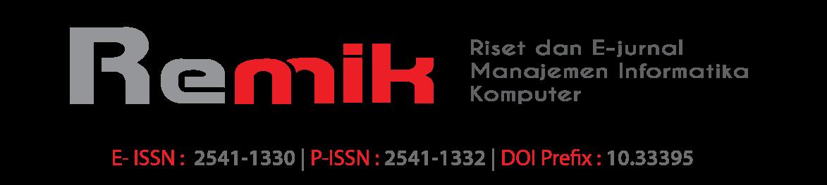 Remik (Jurnal dan Penelitian Manajemen Informatika)